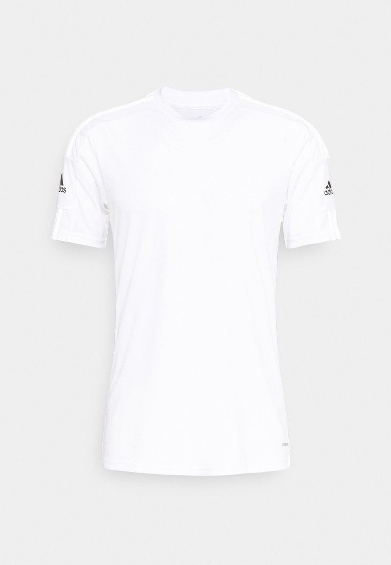 adidas Performance - SQUAD 21 - Print T-shirt - white/black