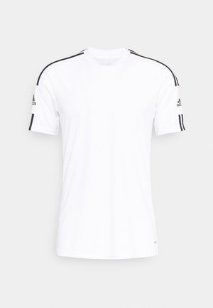 SQUAD - T-shirt med print - white/black