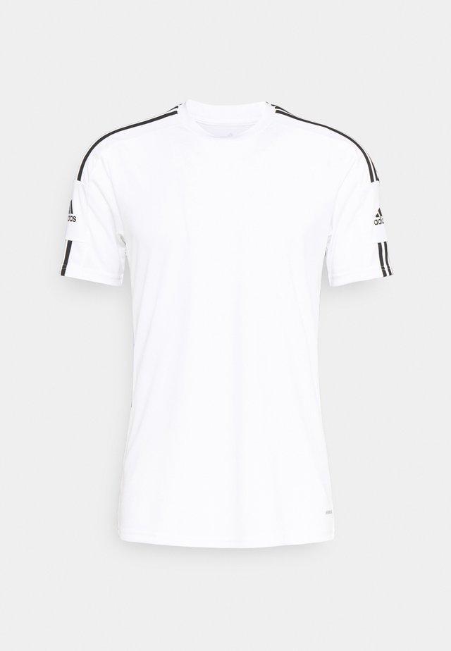SQUAD 21 - T-shirt imprimé - white/black