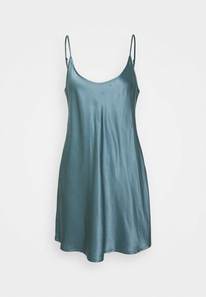 SHORT SLIPDRESS - Negligé - light blue