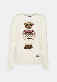 Polo Ralph Lauren - BLEND - Jumper - cream/multi - 0
