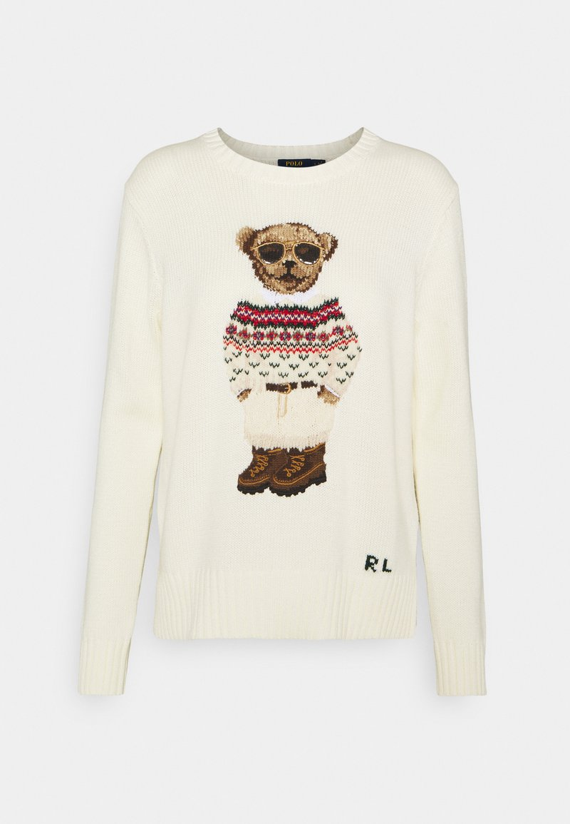 Polo Ralph Lauren - BLEND - Jumper - cream/multi