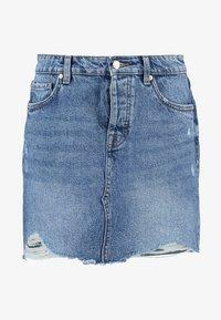 ONLSKY SKIRT - Denim skirt - light blue denim