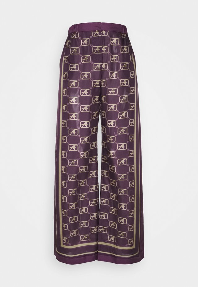 TROUSERS - Trousers - fantasy violet