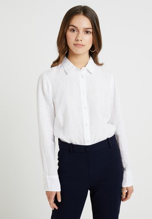 PERFECT - Button-down blouse - white