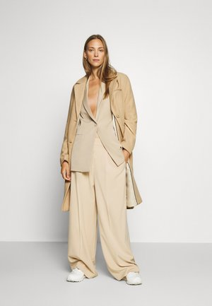 COAT BASIC - Classic coat - warm sand melange