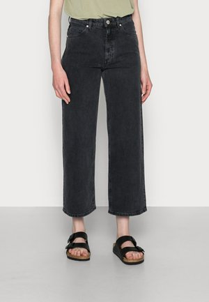 THOMMA - Relaxed fit jeans - washed black