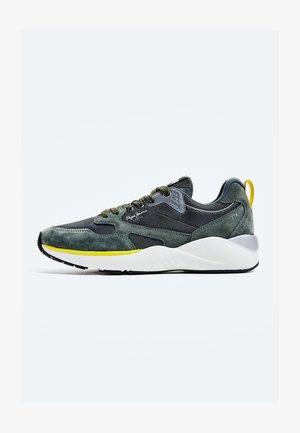 Sneakers laag - verde caqui