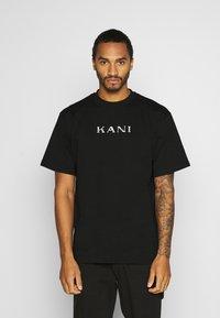 Karl Kani - RETRO TEE - Basic T-shirt - black - 0