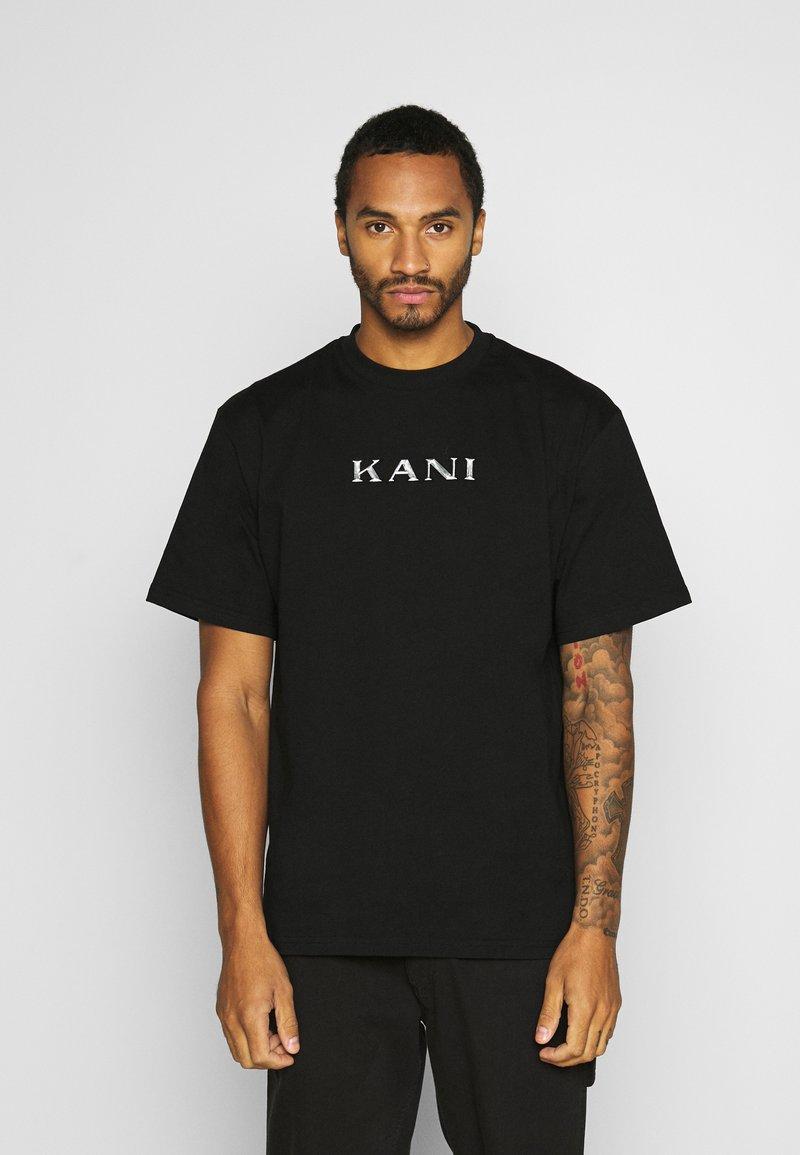 Karl Kani - RETRO TEE - Basic T-shirt - black