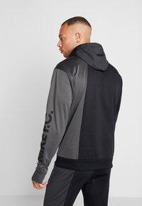 Nike Performance - FC HOODIE - Hoodie - anthracite/black/white - 2
