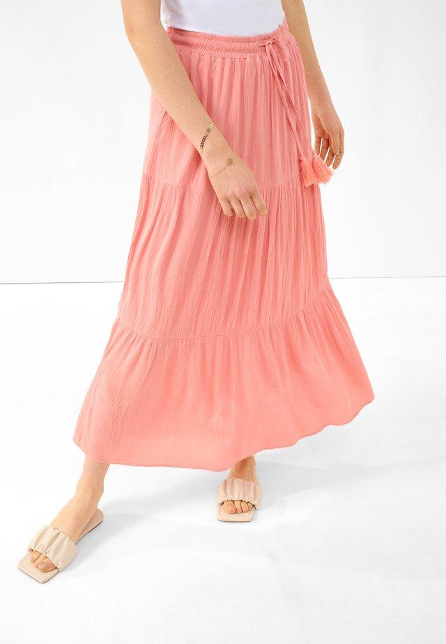 Pleated skirt - helles flamingo