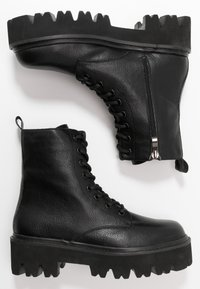 Colors of California - Platform ankle boots - black - 3