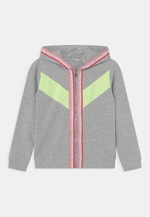 JUNIOR HOODED ACTIVE  - Zip-up sweatshirt - hellgrau