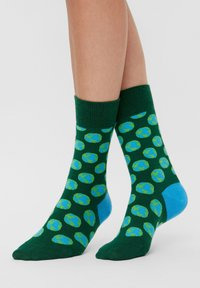 Natural Vibes - EARTH SOCKEN AUS BIOBAUMWOLLE - Socks - green - 0
