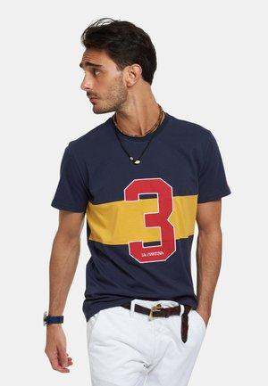 RAISEN - T-shirt con stampa - dark blue