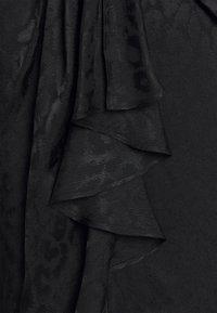 Milly - FONTINE CHEETAH DRESS - Cocktail dress / Party dress - black - 2