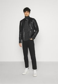 Gipsy - BENNET - Leather jacket - black - 1