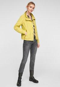 Q/S designed by - Light jacket - pistacchio - 1