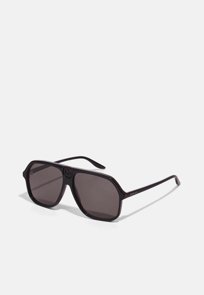 Gucci - UNISEX - Okulary przeciwsłoneczne - black/grey