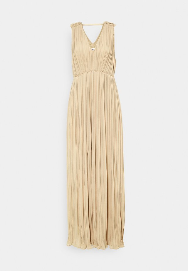 SANREMO DRESS - Galajurk - dark beige