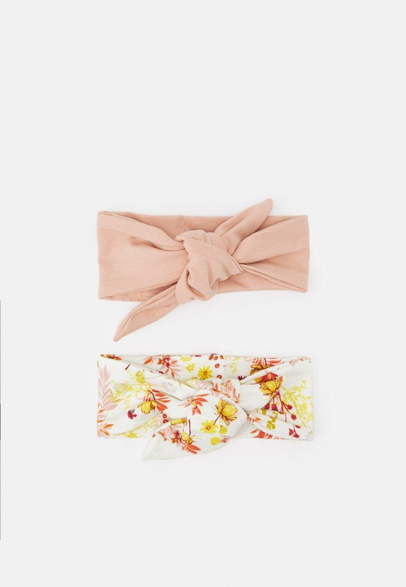 Müsli by GREEN COTTON - CALENDULA HEADBAND 2 PACK  - Hårstyling-accessories - cream