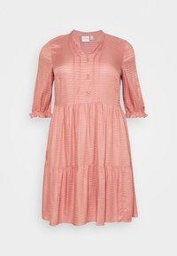 JUNAROSE - by VERO MODA - JRGESO KNEE DRESS  - Shirt dress - old rose - 5