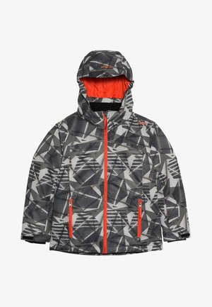 BOY SNAPS HOOD - Ski jacket - torba/antracite