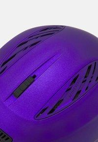 Alpina - LAVALAN  - Helmet - dark violet matt - 7