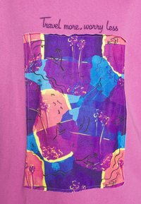 Trendyol - Print T-shirt - lila - 4