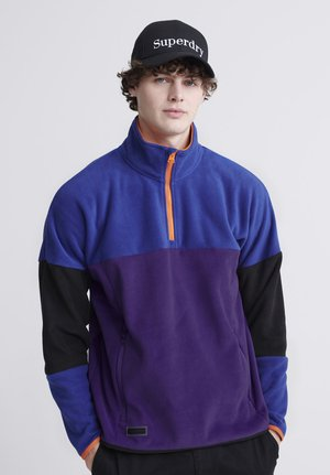 CRAFTED CASUALS STREET  - Fleece jumper - prism violet