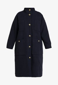 Monki - WILLY COAT - Zimní kabát - navy - 4