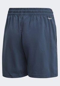 adidas Performance - CLUB 3 STRIPES PRIMEGREEN SHORTS - Sports shorts - blue - 1