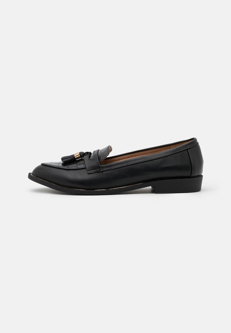 Dorothy Perkins - LANDMARK LOAFER - Mocasines - black