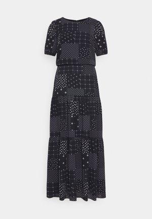PRINTED DRESS - Vestido informal - navy/colonial