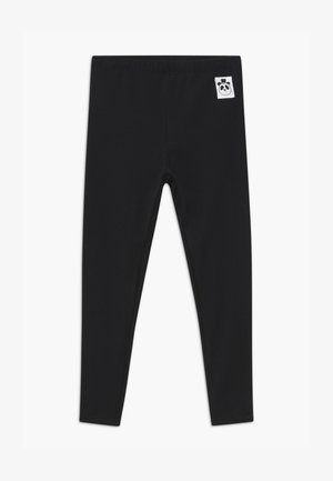 BABY BASIC UNISEX - Leggings - Trousers - black