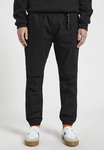 Tracksuit bottoms - mottled black