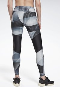 Reebok - RUNNING LUX BOLD LEGGINGS - Leggings - black - 2