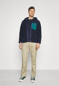 Superdry - ZIP THRU HOOD - Summer jacket - nautical navy - 1
