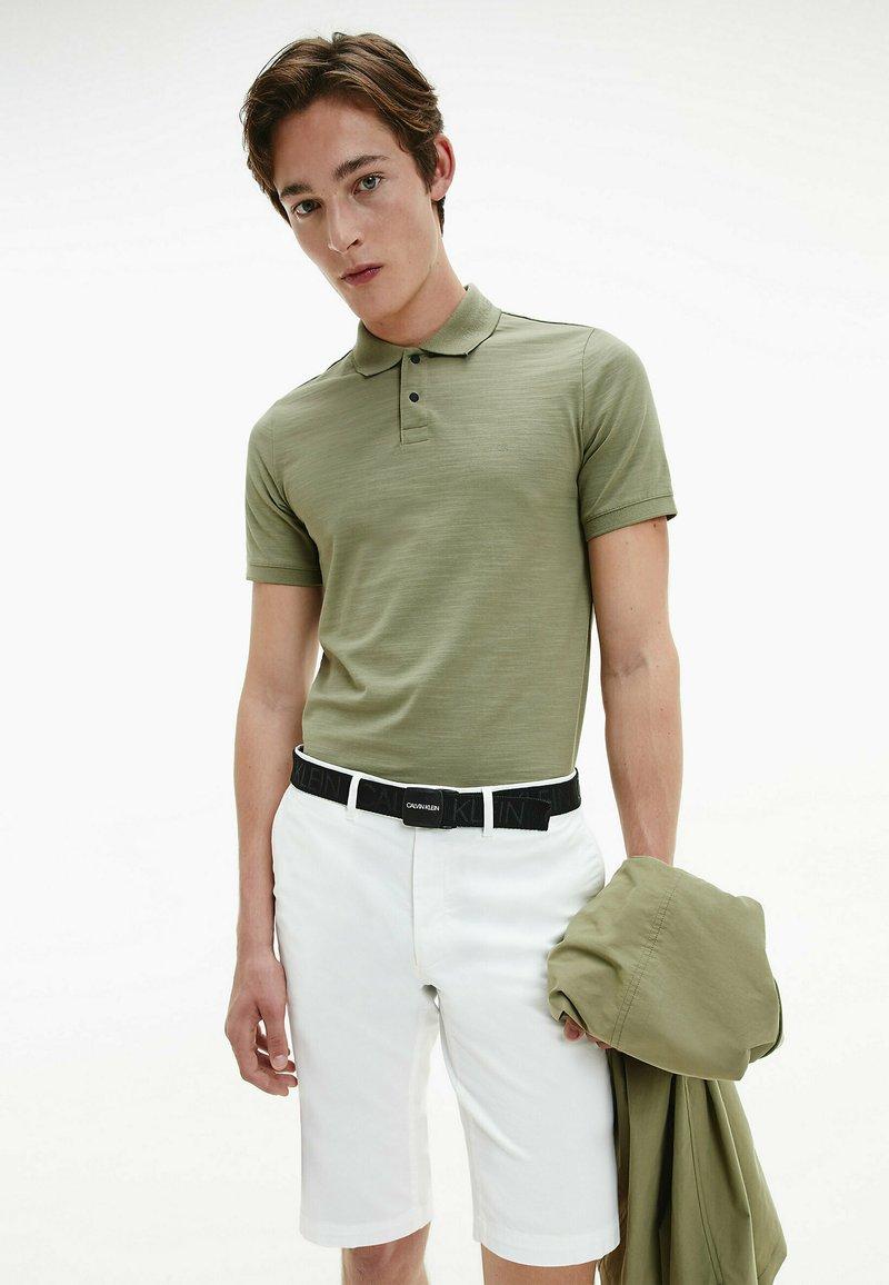 Calvin Klein - Polo shirt - delta green