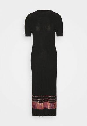 VEST MISURI - Maxi dress - black