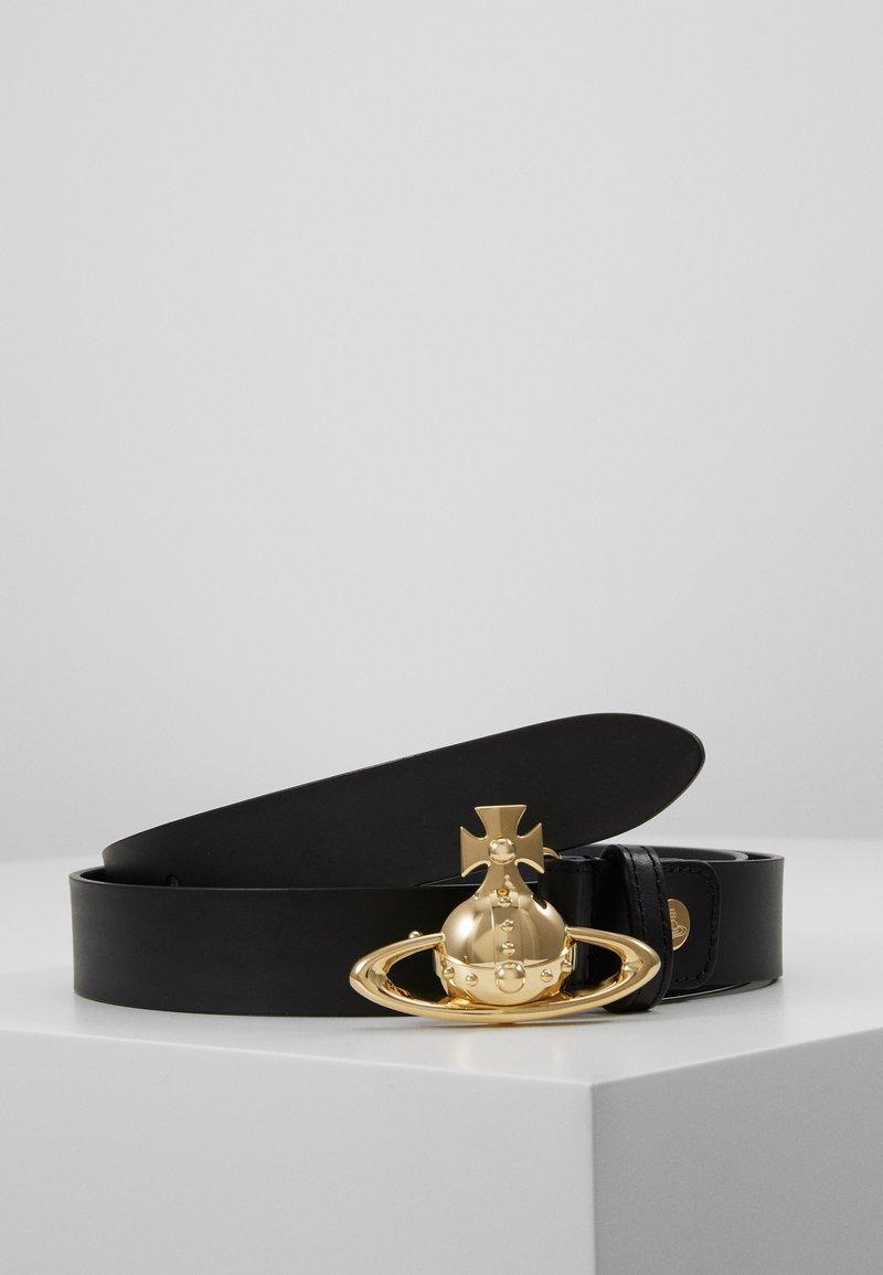 Vivienne Westwood - ORB BUCKLE BELT - Pásek - black