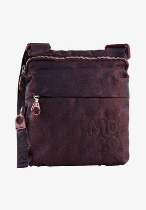Across body bag - blackberry syrup