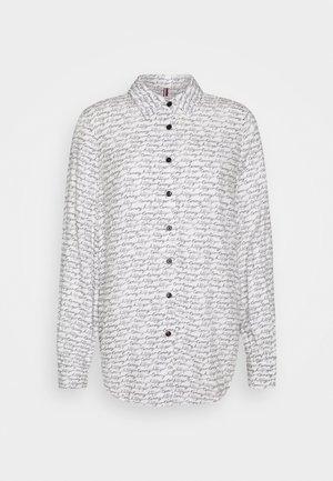 BREE REGULAR BLOUSE - Button-down blouse - ecru