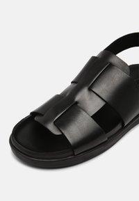 Clarks - SUNDER STRAP - Sandals - black - 6