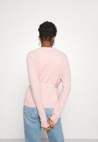 Vila - VISURIL BELT  - Cardigan - misty rose melange - 2