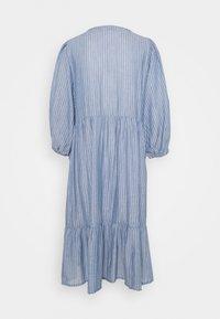 Cream - FLORANA DRESS - Vapaa-ajan mekko - blue - 1