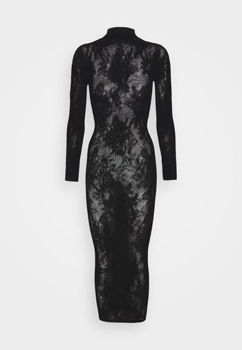 THE FABULOUS BOXED COVERED DRESS