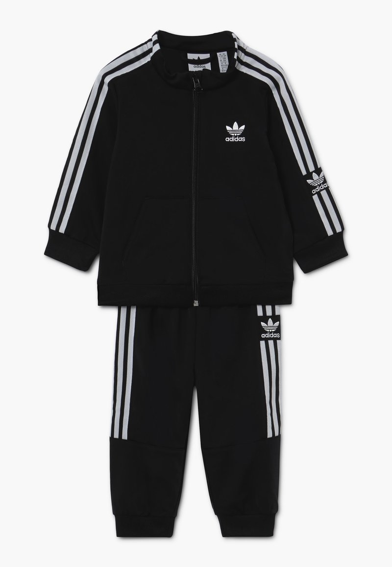 adidas Originals - LOCK UP - Tracksuit - black/white