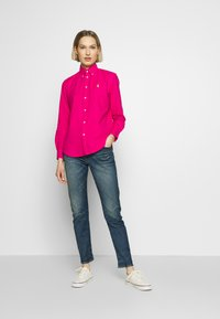 Polo Ralph Lauren - RELAXED LONG SLEEVE SHIRT - Button-down blouse - accent pink - 1